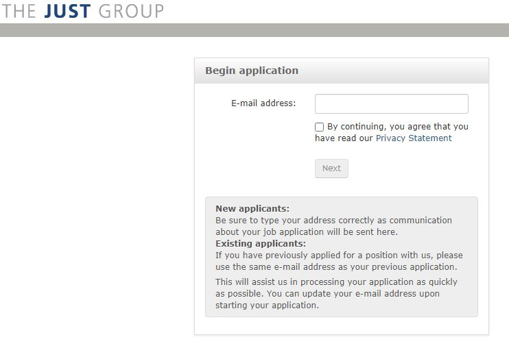 just group job application step 5