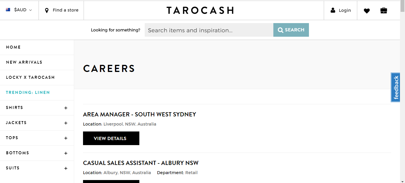 tarocash apply